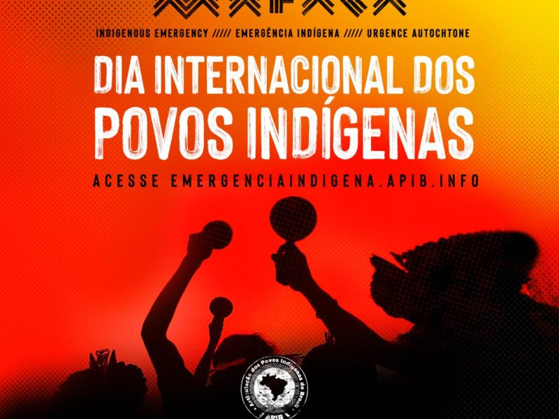 Hoje é o Dia Internacional dos Povos Indígenas