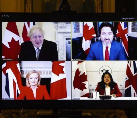 Canadá e Reino Unido