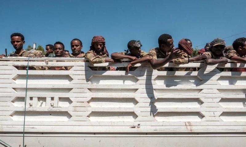 Forças etíopes