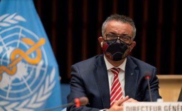 O chefe da Organização Mundial da Saúde (OMS)